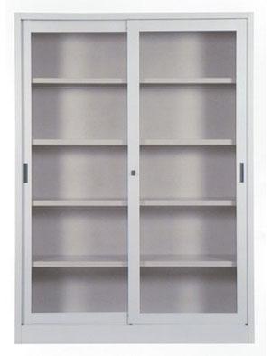 Armadi metallici : librerie e sopralzi ante vetro temperato