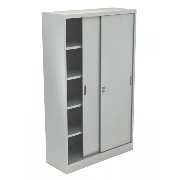 Armadi metallici 180x45x200 for Armadi metallici per ufficio ante scorrevoli